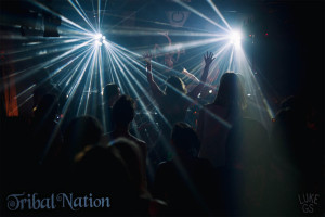 Sleepwreck preforms Disasterpiece at Tribal Nation's event