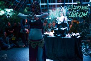 Tsaida performs during The Awakening Dream solstice celebration