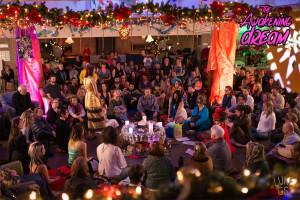 gathering for solstice ceremony The Awakening Dream