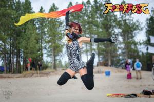 Selah jumps at fozzyfest festival
