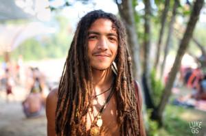 Shambhala Festival portrait by Luke GS