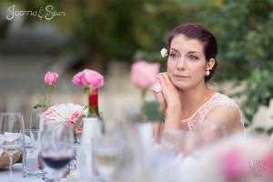 Miriam's happy tears at Joanna's wedding