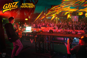 Griz performs at Astral Harvest Festival's main stage