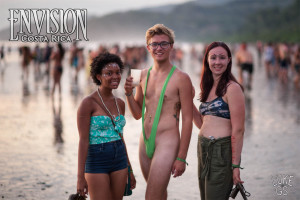 babes on the beach at envision festival costa rica