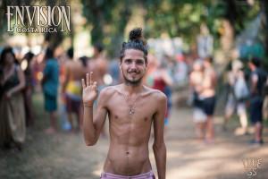 pretty man at envision festival costa rica