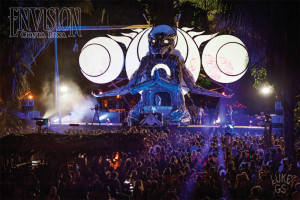 main stage at envision festival costa rica