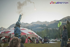 rocket arm launch at motion notion festival by Luke GS
